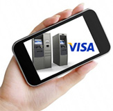 Visa mobile locator